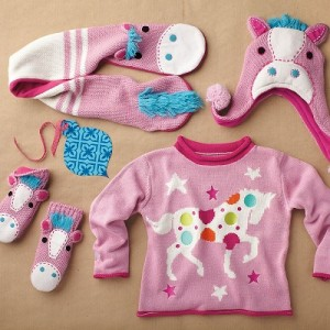 Horse Sweater Set