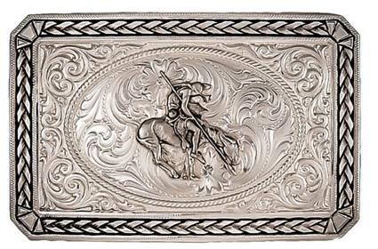 belt buckle from Montana Silversmiths