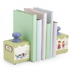 Baby's Favorite Wooden Bookends