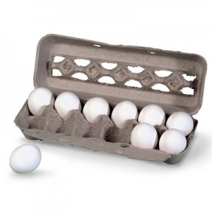 Egg Carton Treasure Box
