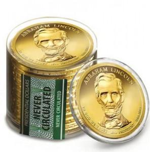 Presidential dollar rolls