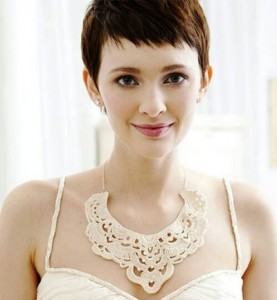 Cropped pixie cut