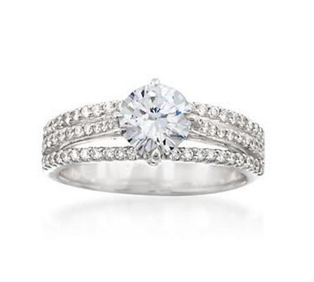 Ross Simons engagement rings