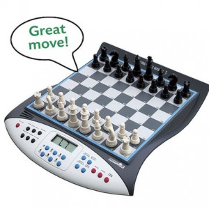 Talking chess set