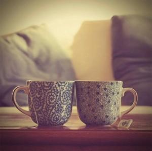 A cozy cuppa