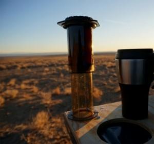 Outdoor coffee magic