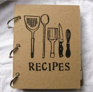 Book of family recipes