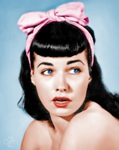 Bettie Page clothing styles