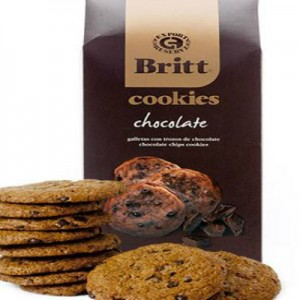 Café Britt Chocolate Chip Cookies
