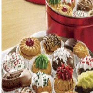 Swiss Colony's Holiday Cookie Tins