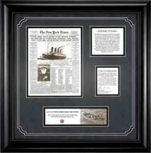 Authentic Titanic Collectables