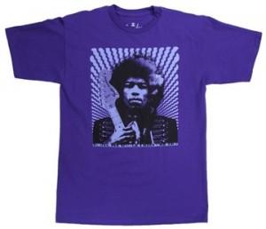 jimmy hendrix t shirt at Sam Ash Music