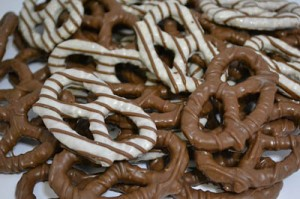 Candied Pretzels