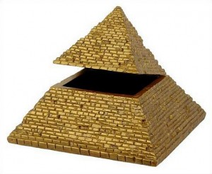 pyramid box from Museum Store Company