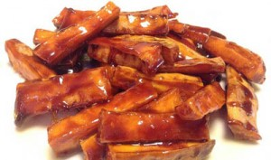 Toffee Sweet Potatoes