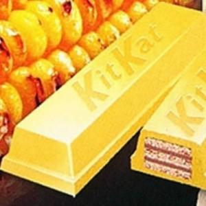 Grilled corn Kit Kats