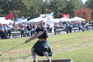 Outlander Highland warrior