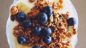 Seeded pecan granola