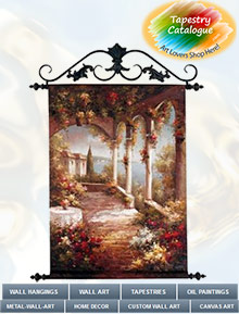 Tapestry Catalog, Country Decor Mail Order Catalogs.