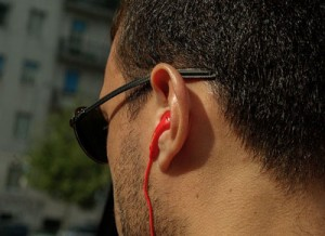 Earplugs and headphones