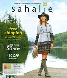 Sahalie catalog
