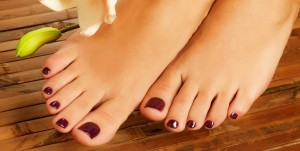 pretty feet pedicure
