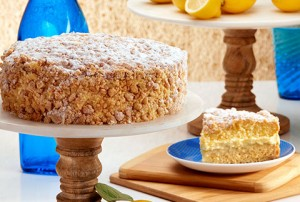 limoncello crumb cake from Bake Me A Wish