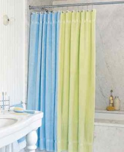 Bath Sheet Shower Curtain