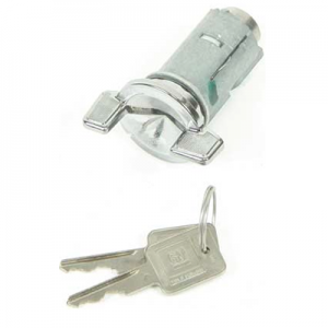 Ignition lock cylinder and key