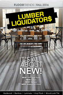 Lumber Liquidators catalog