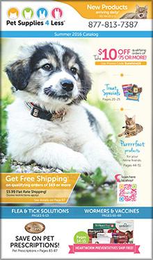 pet supplies 4 less catalog
