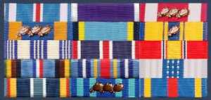 military uniform medals