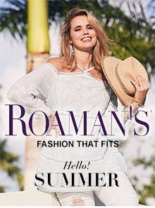 Roaman's online shopping site