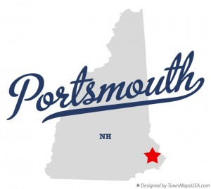 portsmouth new hampshire map