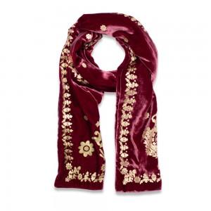 metallic scarf
