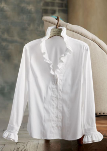 white blouse at Soft Surroundings