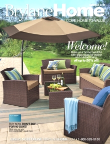 BrylaneHome Outdoor catalog