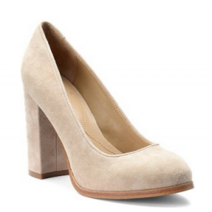 nude pumps at Shoeline