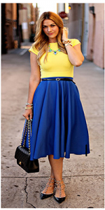 skirts for curvy girls