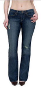 dark jeans for pear shapes
