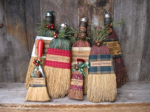 norway christmas broom tradition