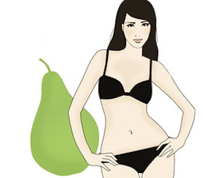 flattering fashions for pear shaped body types