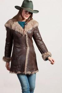 sheepskin coats at Overland Sheepskin Co