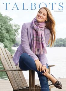 Talbots Womens Clothing Catalog Cover