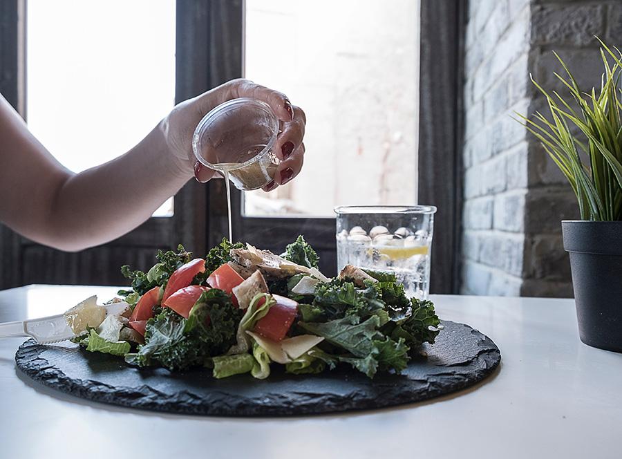 Platter of Vegetable Salad