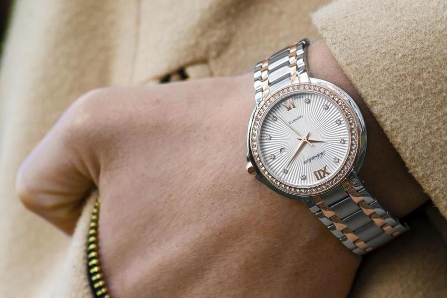A Person Wearing a Wrist Watch