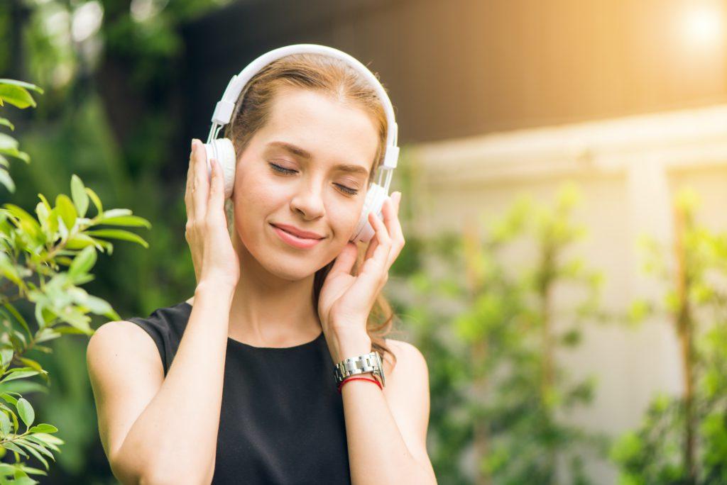 Listening to audiobooks