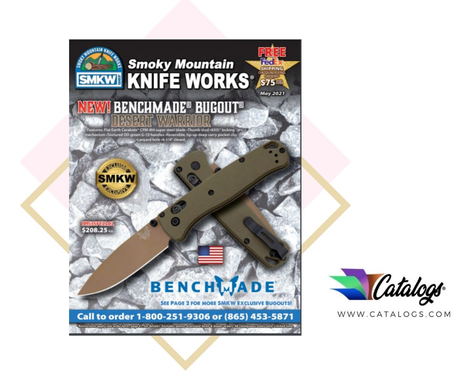 How Do I Order a Free Smoky Mountain Knife Works Gadgets Catalog?