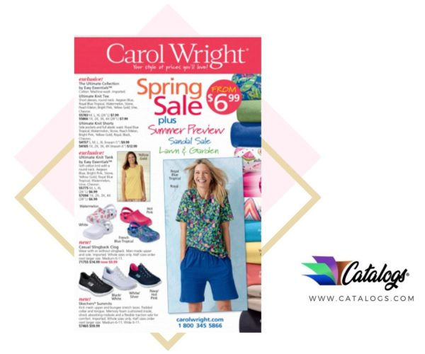 How Do I Order a Free Carol Wright Home and Clothing Catalog?