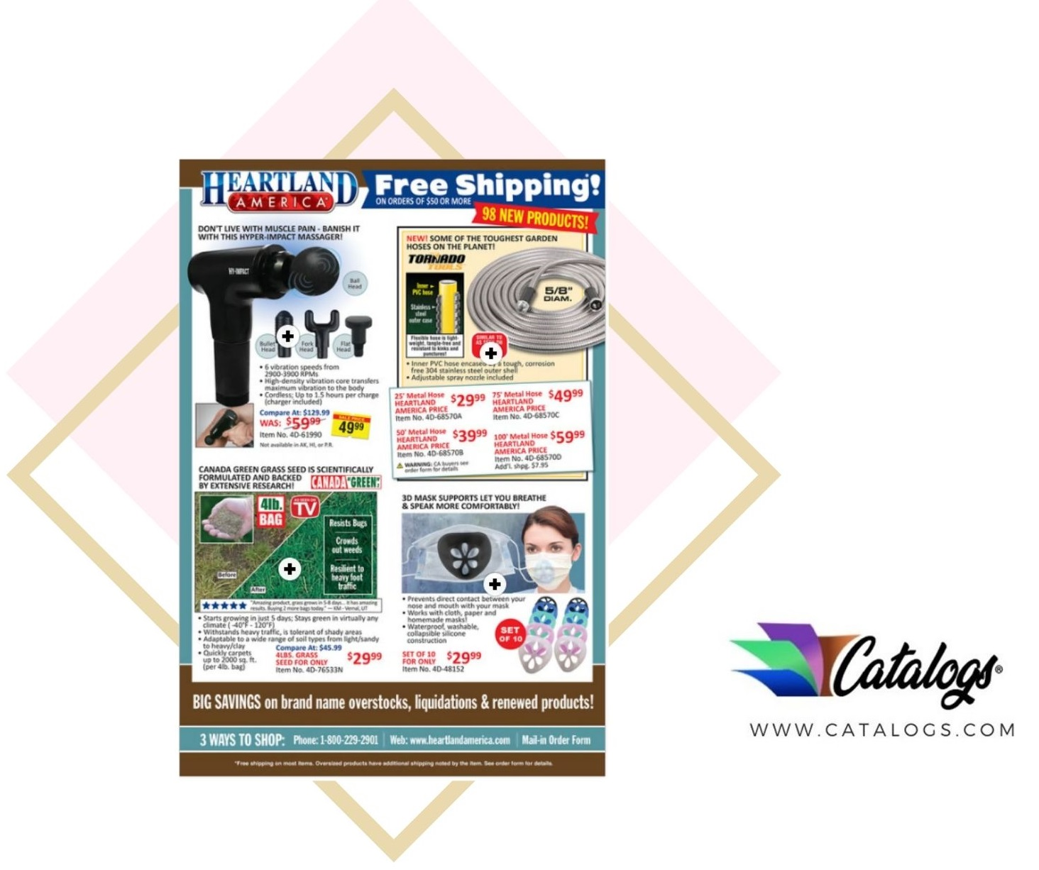 How Do I Order a Free Heartland America Kitchen and Houseware Catalog?
